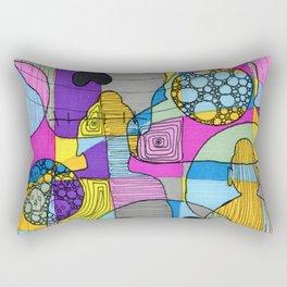 Skulls & Buddha 49 Rectangular Pillow