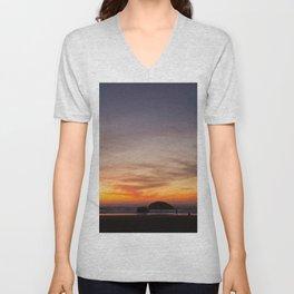 Sunset Watchers Unisex V-Neck