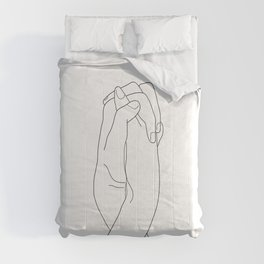 Never Let Me Go II Comforters