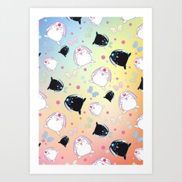 Mokona's Pattern Art Print