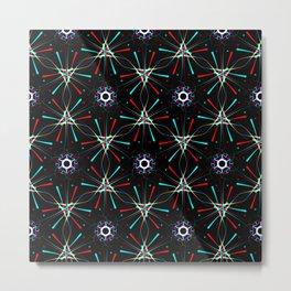 Pattern Hannah Metal Print