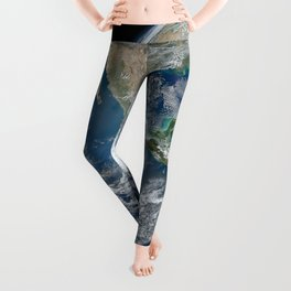 Planet Earth from Above Leggings