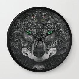 Lobo Verde Wall Clock
