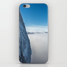 Upward Cliff iPhone Skin