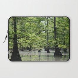 Cypress Trees in the Louisiana Swamp Laptop Sleeve