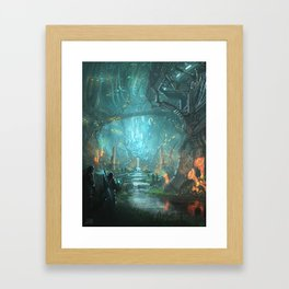 Sanctuary of the Ancients Framed Art Print