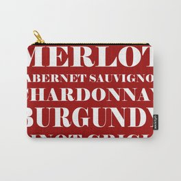 Wine Celebration - Red Carry-All Pouch