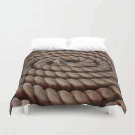 A Coil of Rope Duvet Cover