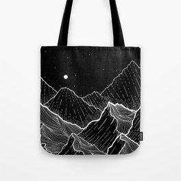 Sea mountains Tote Bag