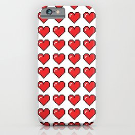 PIxelated Love iPhone Case