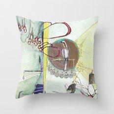Exploration: Ornithology Throw Pillow