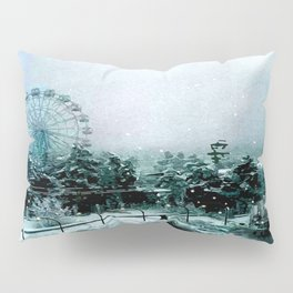 Cold Forest Playground Pillow Sham