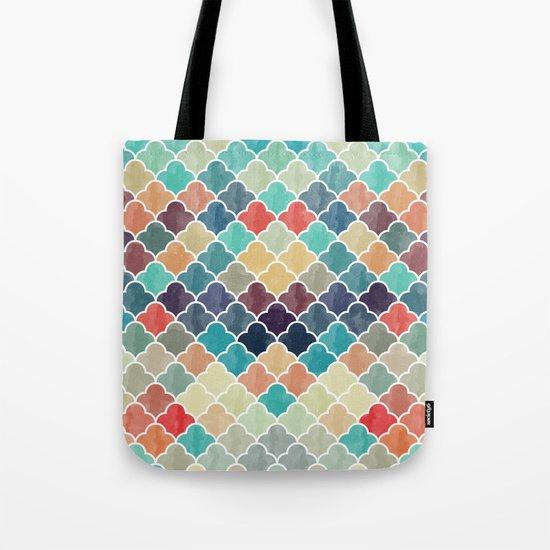Watercolor Lovely Pattern VVXI Tote Bag