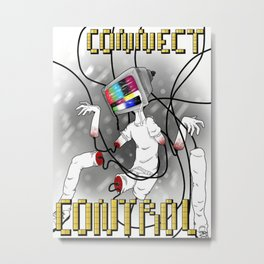 Connect Control Metal Print