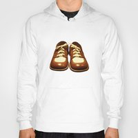 shoes Hoodies featuring Shoes by Kimball Gray
