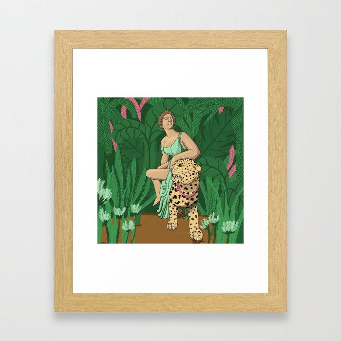 Dangerously Loyal Framed Art Print