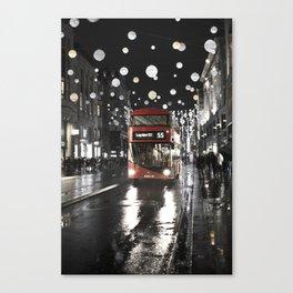 London Oxford Street Canvas Print