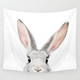 Hello Bunny Wall Tapestry