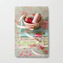 Craft Room - pastel Metal Print