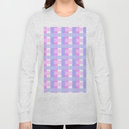 Pink versus Puple Long Sleeve T-shirt