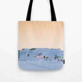 Moroccan Dar in Blue Tote Bag
