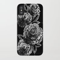 bioworkz iPhone & iPod Cases featuring Four Roses by BIOWORKZ
