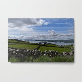 Irish Pastures Metal Print
