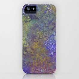 Abstract Watercolor #3 iPhone Case
