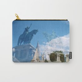 Mirror Horses Carry-All Pouch