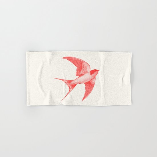 Barn Swallow (red) Hand & Bath Towel