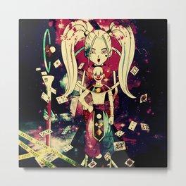 fairies and destructive gods Metal Print