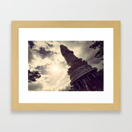 Buddha in Vietnam Framed Art Print