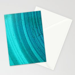 Turquoise Halos Stationery Cards