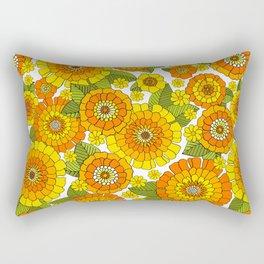 Busy bunch Rectangular Pillow