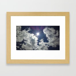 A Cloud Affair Framed Art Print