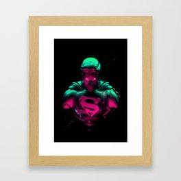 Man Of Steel 4 Framed Art Print