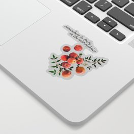 Call Me By Your Name - Inscription Sticker