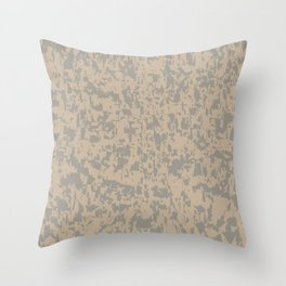 Marble Efect Grunge Background Throw Pillow