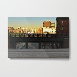 Avenue Hideout Metal Print