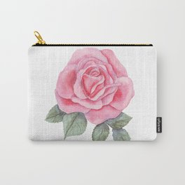 Gentle Rose Carry-All Pouch