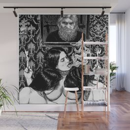 asc 935 - Les psychopompes (Evocation of the spirit of a murdered sybarite) Wall Mural