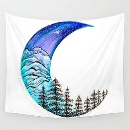 Moon Star Wall Tapestry