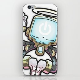 CONNECT_Bot022 iPhone Skin