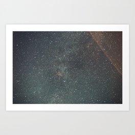 Wyoming By Night Art Print
