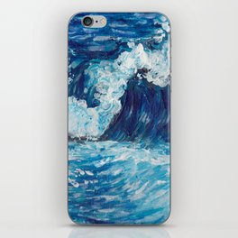 Crest of a Wave iPhone Skin