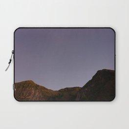 Untouched purple sky Laptop Sleeve