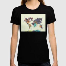 world map 106 #worldmap #map T-shirt
