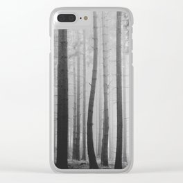 Outside the crowd Clear iPhone Case