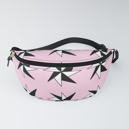 Stars 7- sky,light,rays,pointed,hope,estrella,mystical,spangled,gentle. Fanny Pack