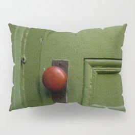 The Red Doorknob Pillow Sham